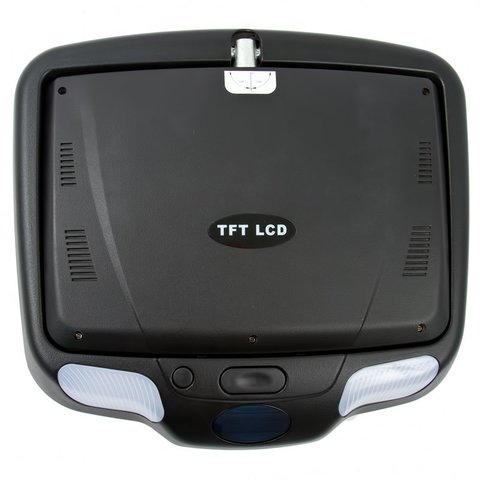 """9"""" Car Flip Down Monitor with DVD Player (Black) Preview 2"""