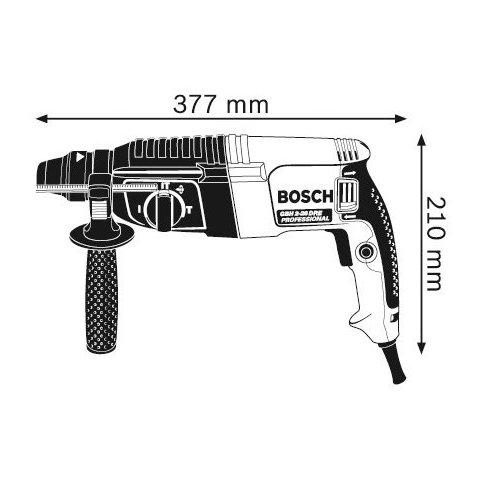 Перфоратор профессиональный Bosch GBH 2-26 DRE
