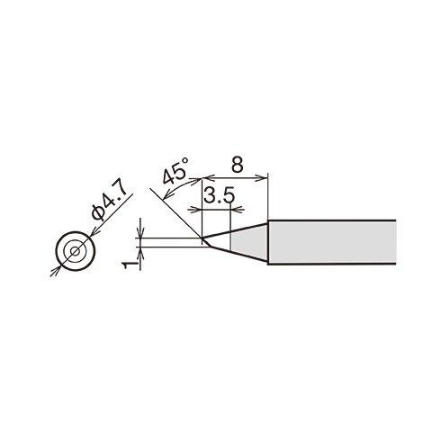 Паяльне жало Goot RX-80HRT-1BC Прев'ю 1