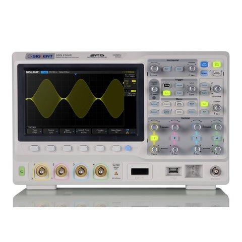 Фосфорний цифровий осцилограф SIGLENT SDS2304X Прев'ю 1