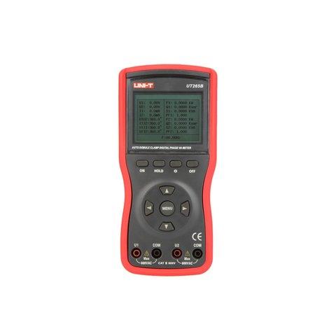 Цифрові 2-фазні струмовимірювальні кліщі UNI-T UT265B Прев'ю 3