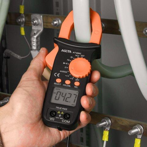 Digital Clamp Meter Accta AT-600C Preview 6
